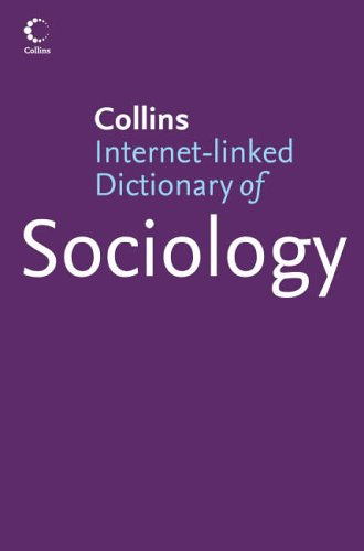 Dictionary Of Sociology (Collins Dictionary of)
