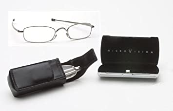 Folding Vision Reading Glasses, Rectangle