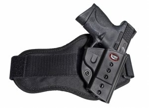 Fobus Holster HandGun, Fire Arm, Pistol Fobus Evolution Ankle Holster Crimson Trace 660 S&W M&P 40 45 661 & 357