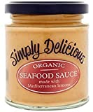 Simply Delicious Organic Seafood Sauce with Lemon 180g