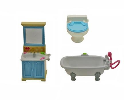 Fisher Price Loving Family Dollhouse BATHROOM REPLACEMENT Home for Holidays
