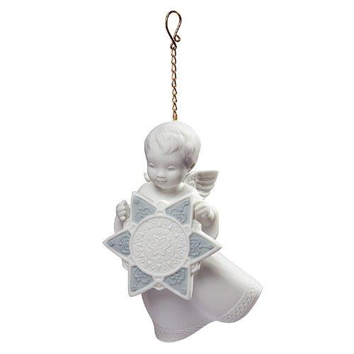Lladro Angel With Star Ornament