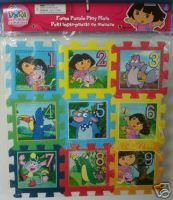 Dora the Explorer 9 Pc Foam Puzzle - 1
