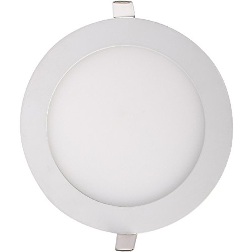 "Generic 9W Led Panel Light Round Ultra Slim Cool White 45 Smd2853 Ac110-265V 5"" Color White"