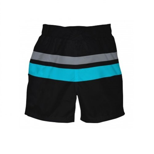 I Play Baby Boys Ultimate Swim Diaper Block Board Shorts (Small (6 Months)) front-9310
