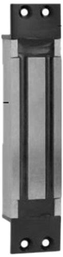 Schlage Electronics 320M Miniline Electromagnetic Lock For Sliding Doors, With Door Status Monitor And Magnetic Bond Sensor, Mortise Mount, Chrome Aluminum Finish