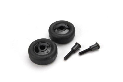 Traxxas 4976 4 Wheels and 2 Axles for Wheelie Bar - 1