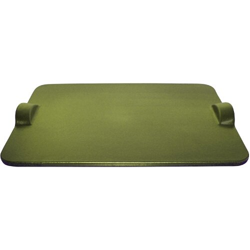 Emile Henry 12 By 10-Inch Grilling/Baking Stone, Olive