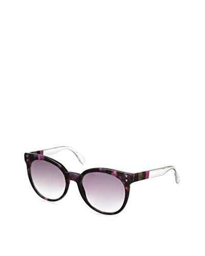 Fendi Women's FF083 Sunglasses, Havana Fuchsia Crystal