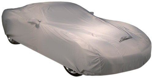 Coverking Custom Car Cover For Select Ford Mustang Models - Autobody Armor (Gray) front-1066879