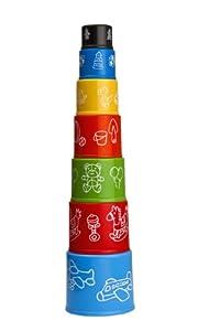7 Piece Cup & Beaker Stacking Set