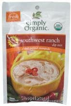 Dip Mix Hot Spicy Southwest Ranch Organic 15 Oz