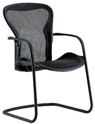 Aeron Side Chair by Herman Miller - Carbon Wave