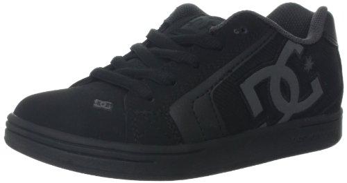 Dc Net Skate Shoe (Toddler/Little Kid/Big Kid),Black/Black/Black,12.5 M Us Little Kid