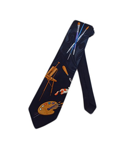 fratello-mens-drum-sets-rock-n-roll-necktie-black-one-size-neck-tie