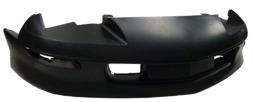 TKY CV04108BB-TY5 Chevy Camaro Primed Black Replacement Front Bumper Cover (93 Camaro Bumper compare prices)