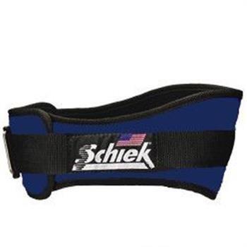 Schiek Original 4 3/4 Inch Nylon Support Belt Lt Navy - Xl