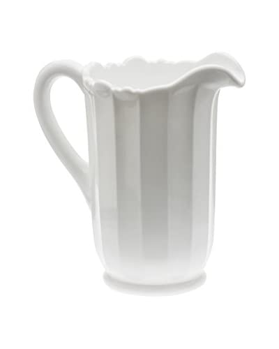 Mosser Glass Milk White 40-Oz. Panel Pitcher