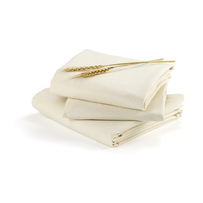 Bloom Fitted Alma Papa Sheets, Natural Wheat front-29222