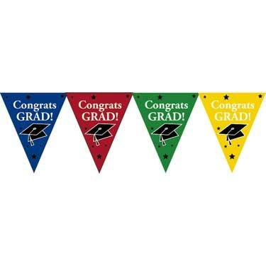 Graduaton Decoration Pennant Banner - 1