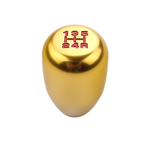 Universal Honda Accord 5 Speed Manual Shift Knob M10x1.5 Screw On Color Gold (Automatic Shift Knob Gold compare prices)