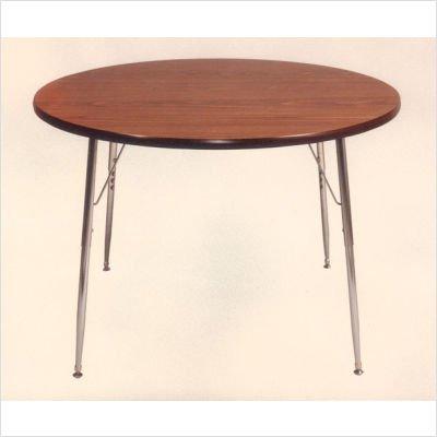 Ironwood Round Tapered Leg Table