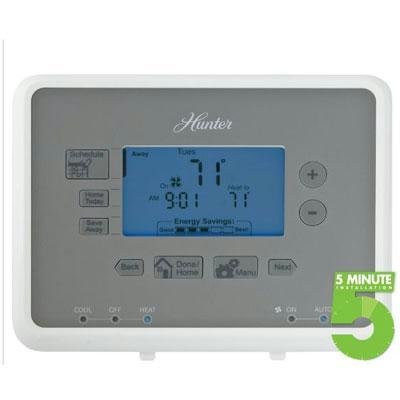 Hunter Fan Company 44377 Univ. Programm. Thermostat