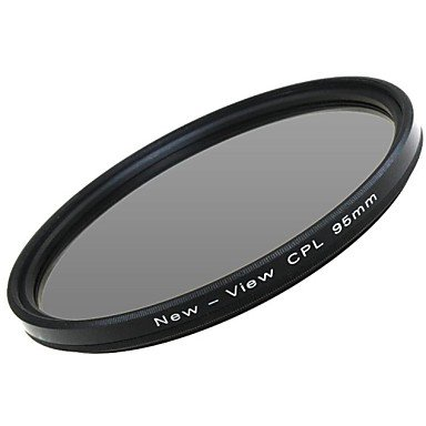 Peach New View Polarizer Filter For Camera(95Mm) , Black