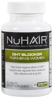 Natrol Nuhair Dht Blocker - 60 Tabs, 2 Pack