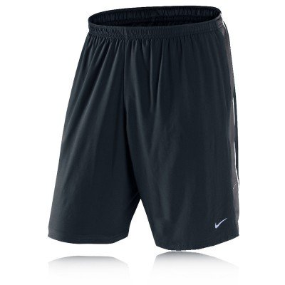 Nike Nike 9 Inch Dri-Fit Running Shorts - Large - Black