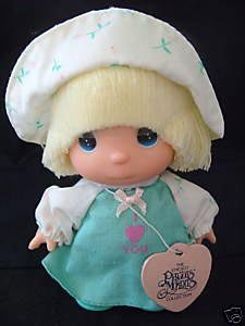 Enesco Precious Moments Collection Hi Babies Doll I Love You - 1