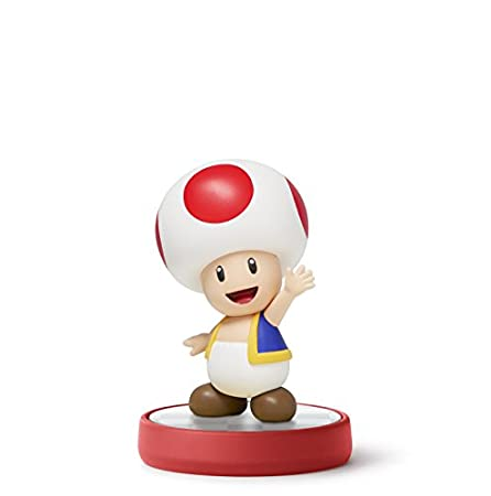 Toad amiibo (Super Mario Bros Series)