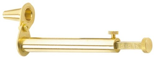 Traditions Performance Firearms Muzzleloader Adjustable Powder Measure, Swivel Spout, 5 to 120 grains (brass)