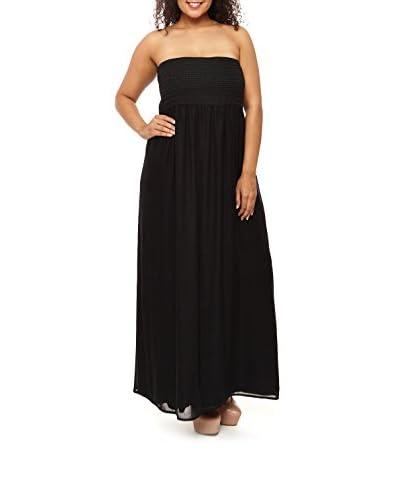 C.O.C. Plus Women's Braided Detail Maxi Dress