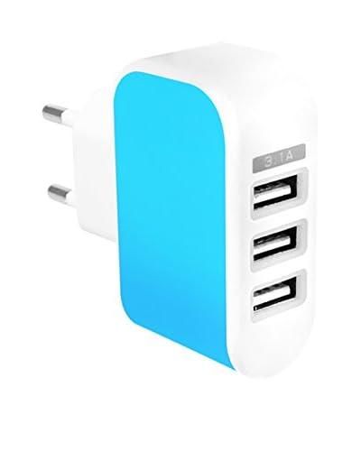 Cargador USB 1A Azul