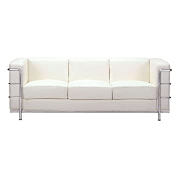 Fortress Sofa White