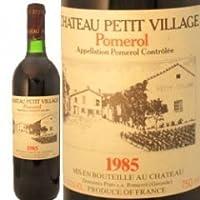シャトー・プティ・ヴィラージュ[1985] /赤ワイン/750ML/フランス/ボルドー