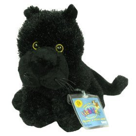 Webkinz Black Panther with Trading Cards