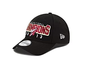 Buy NCAA Florida State Seminoles BCS National Champs 9FORTY Adjustable Cap, Black, One Size by New Era