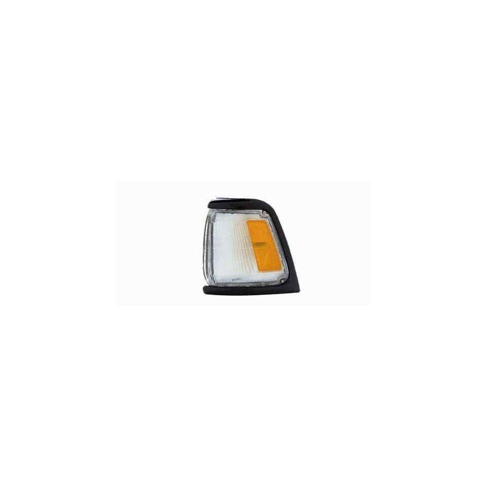 1989 1991 TOYOTA PICKUP 2WD; STANDARD REPLACEMENT PARKING CORNER LIGHT LEFT HAND TYC 18 1477 62