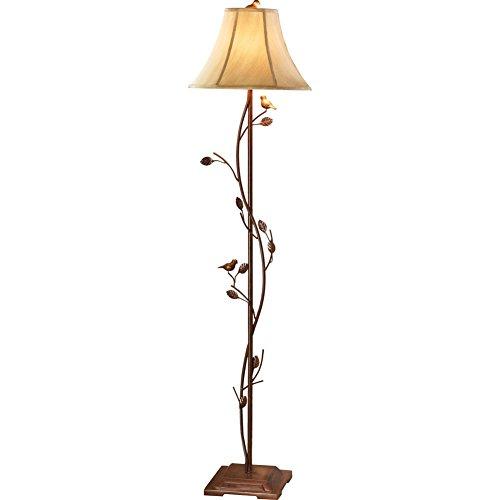 antique-finished-metal-birds-vines-floor-lamp