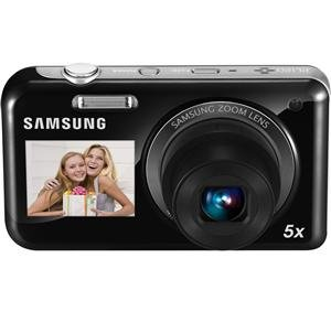 Samsung EC-PL120 Digital Camera with 14 MP and 5x Optical Zoom (Black)
