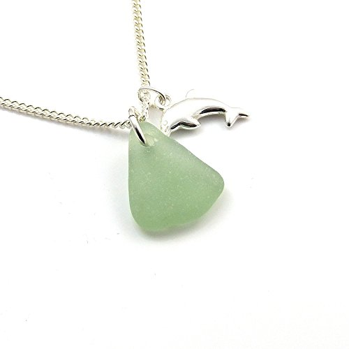 dolphin-and-sea-glass-necklace-c147