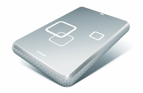 Toshiba Canvio 1 TB USB 2.0 Portable External Hard Drive for Mac E05A100ABU2XY (Radiant Silver)