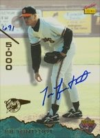 Joe Fontenot San Francisco Giants 1995 Signiture Rookies Autographed Hand Signed... by Hall of Fame Memorabilia