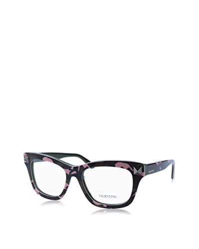 Valentino Montura V2673 (53 mm) Negro / Rosa