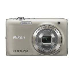Nikon Coolpix S3100 - Cámara Digital Compacta, 14 MP (2.7 pulgadas, 5x Zoom óptico) - Plata