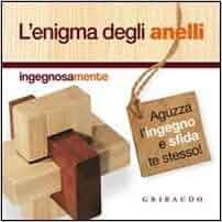 enigma degli anelli. Con gadget: Gribaudo: 9788858006160: Amazon.com