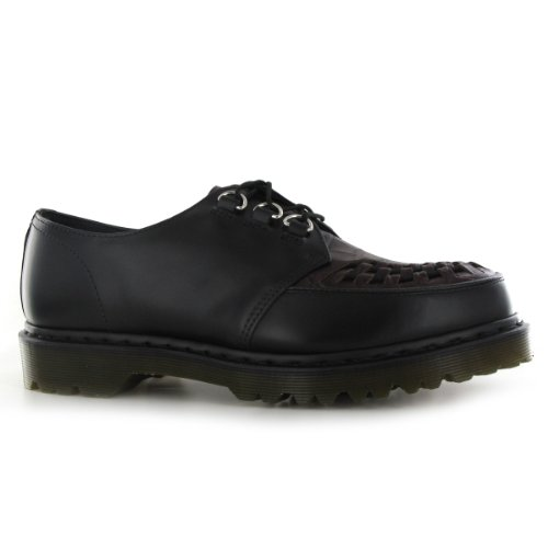 Dr.Martens Ramsey Black Leather Mens Shoes Size 11 UK