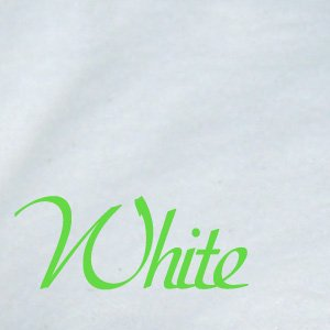 Flannel Fabric White 100 Yards, 60 Inches Wide